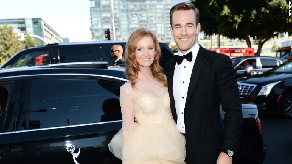 Kimberly Brooks, James Van Der Beek