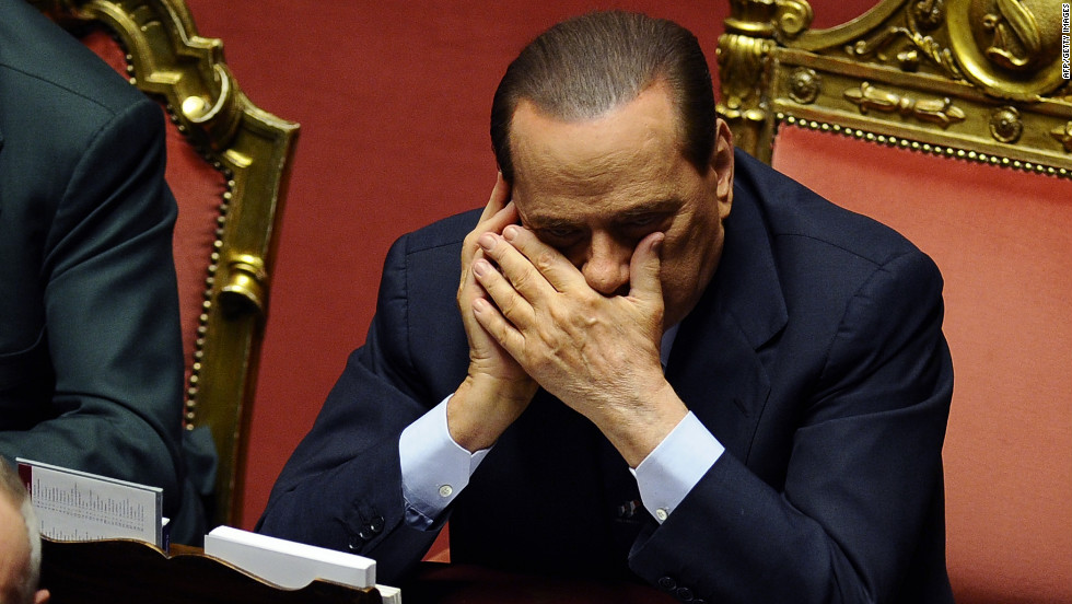 Discreetly texting or instant messaging under the table during meetings is also commonplace, says Dr. Amparo Lasén, Professor of Sociology at the University Complutense de Madrid. Here former Italian Prime Minister Silvio Berlusconi talks on his mobile phone in the Italian Senate prior to a crucial confidence vote in 2010.