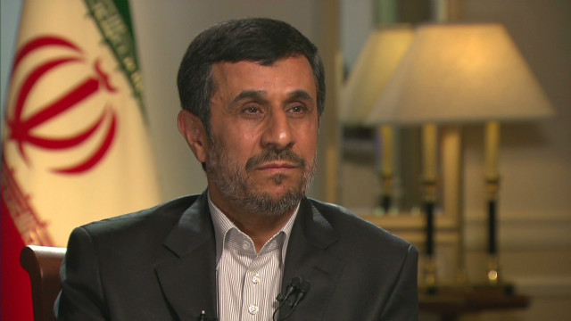 Ahmadinejad: 'Very close' with Iran Jews