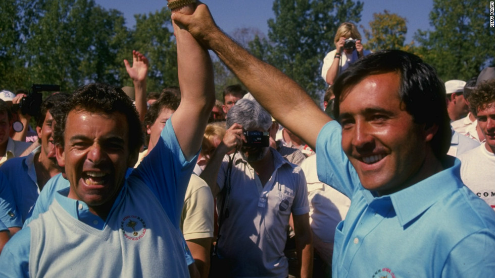 European captain Jacklin harnessed the talent of Ballesteros as his team ended the United States' lengthy winning run during the 1980s.