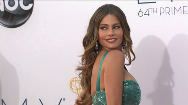 Stars hit the red carpet at the Emmys