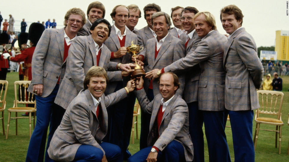 The 1981 United States Ryder Cup team is rated the strongest in their history and they romped to victory over the Europeans at Walton Heath.
