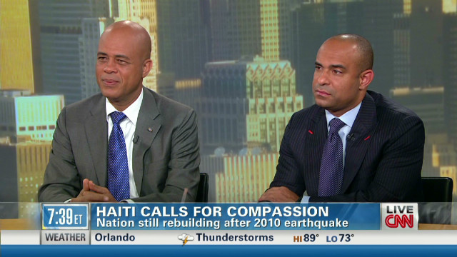 Haiti calls for compassion