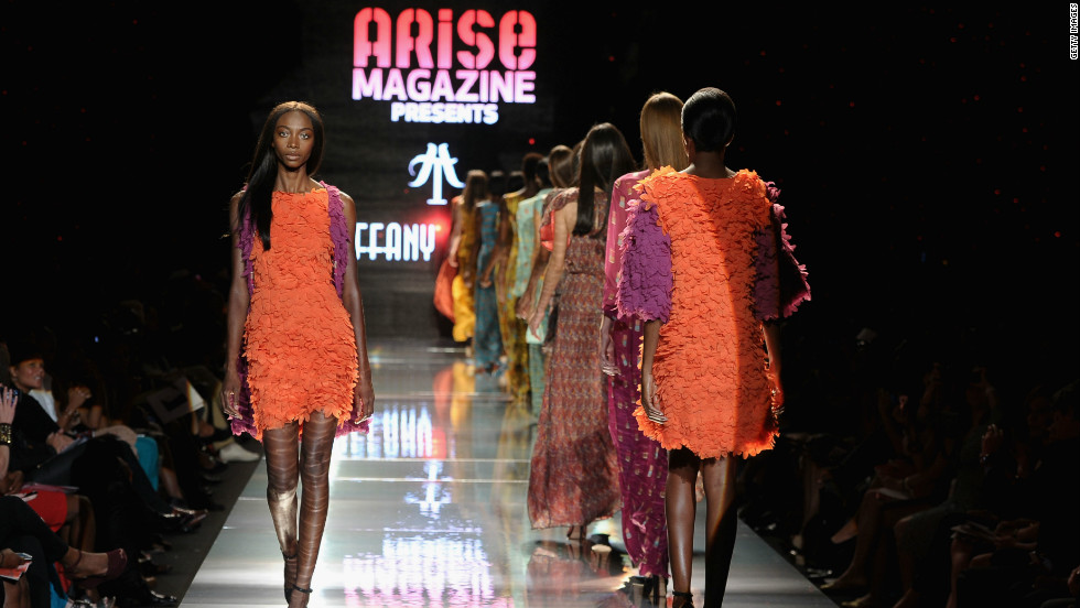 African fashion magazine Arise hosted its fifth show at Mercedes-Benz New York Fashion Week earlier in September.