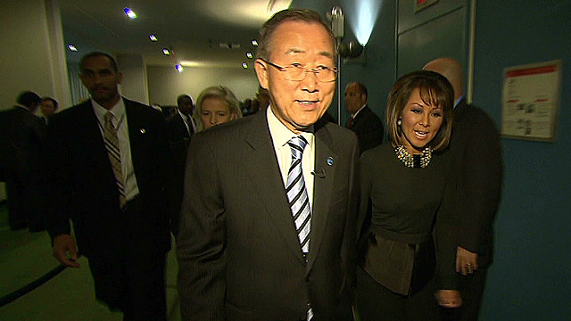 Behind the scenes with Ban Ki-moon