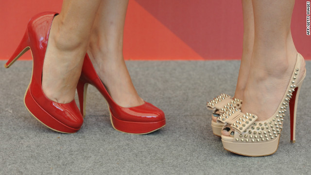 File photo of high-heeled shoes.