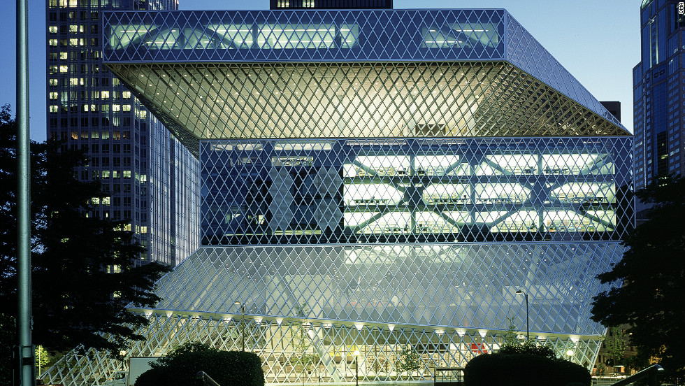 "Koolhaas' design for <a href=""http://www.archdaily.com/11651/seattle-central-library-oma-lmn/"">Seattle Central Library,</a> completed in 2004, was among the first of his public commissions to be internationally acclaimed."