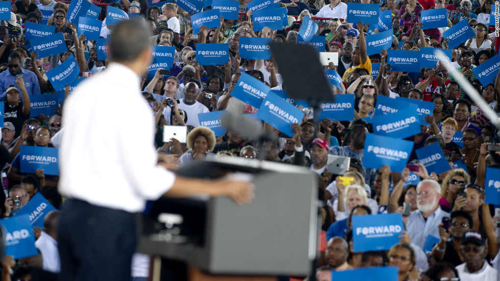 Obama delivers remarks Thursday in Virginia Beach.