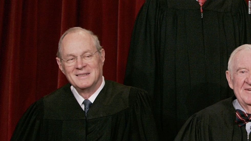 <strong>Anthony Kennedy</strong> was appointed to the court by President Ronald Reagan in 1988. He is a conservative justice but has provided crucial swing votes in many cases. He has authored landmark opinions that include Obergefell v. Hodges, which legalized same-sex marriage nationwide.