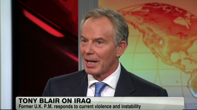 Tony Blair on Iraq's role in Syria