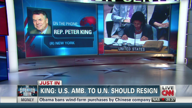 Rep. King: U.S. Amb. to U.N. should resign