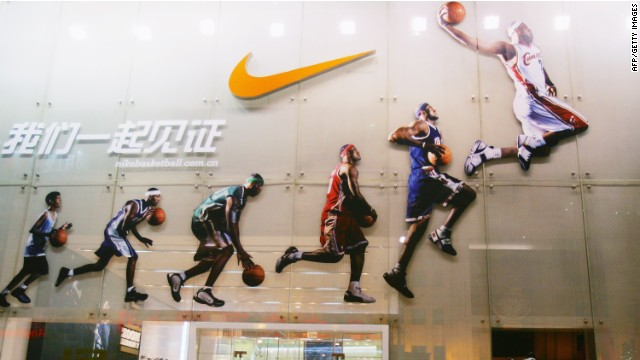 NIke's business in China is slowing faster than expected.