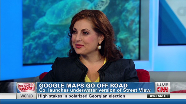 Google Maps go underwater