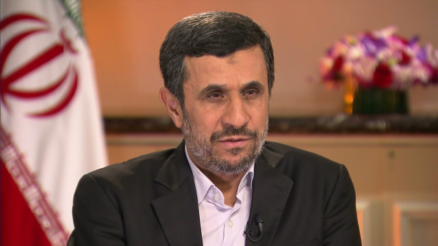 Ahmadinejad on the West bluffing