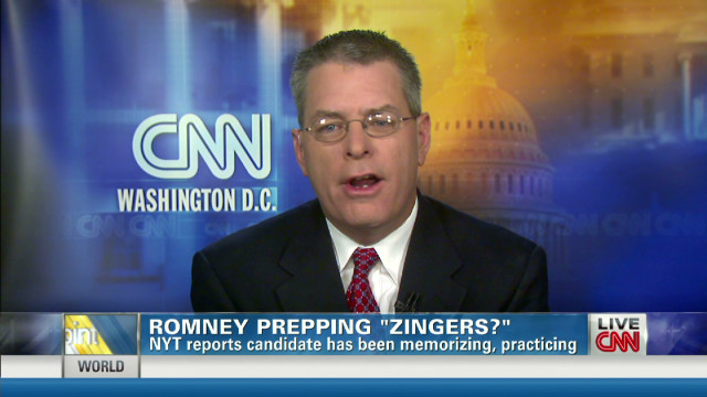 Romney prepping 'zingers' for debate?