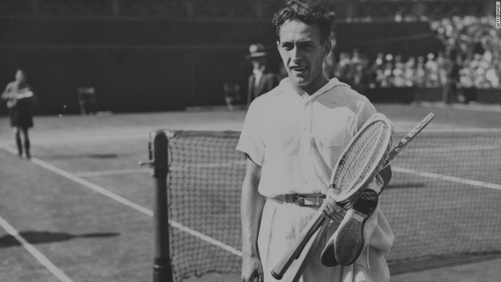 Despite being two sets and 5-1 down in his semifinal, Frenchman Henri Cochet managed to win the 1927 Wimbledon title. He stunned the world No. 1, American Bill TiIden, in the semis before repeating his escapology act in the final, trailing by two sets once more and surviving six match points before rallying to win in five sets for a third successive game.