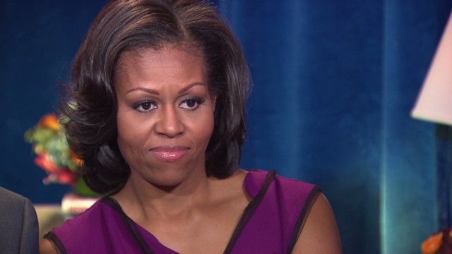 Michelle Obama: Debates make me nervous