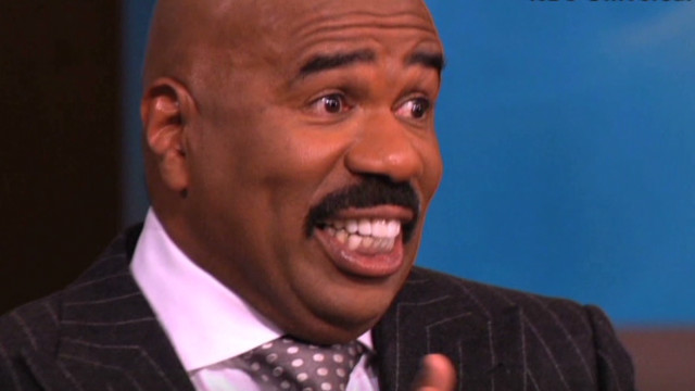 Steve Harvey dreams of golf with Obama