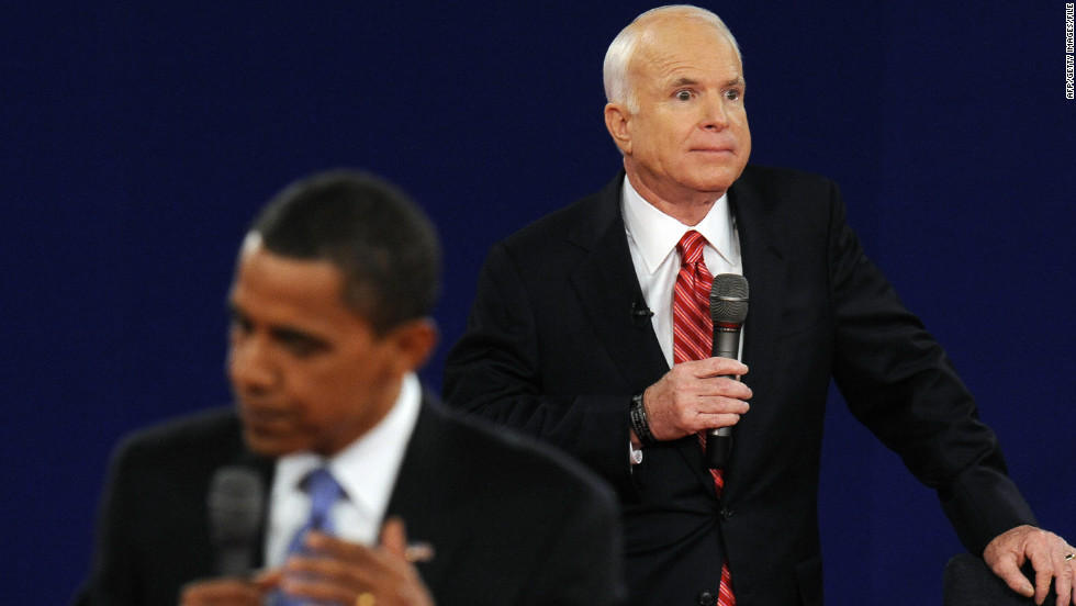 "John McCain sparked controversy when he referred to Obama as ""that one"" during the second 2008 presidential debate. Obama later joked that his first name was Swahili for ""that one,"" according to the New York Times."