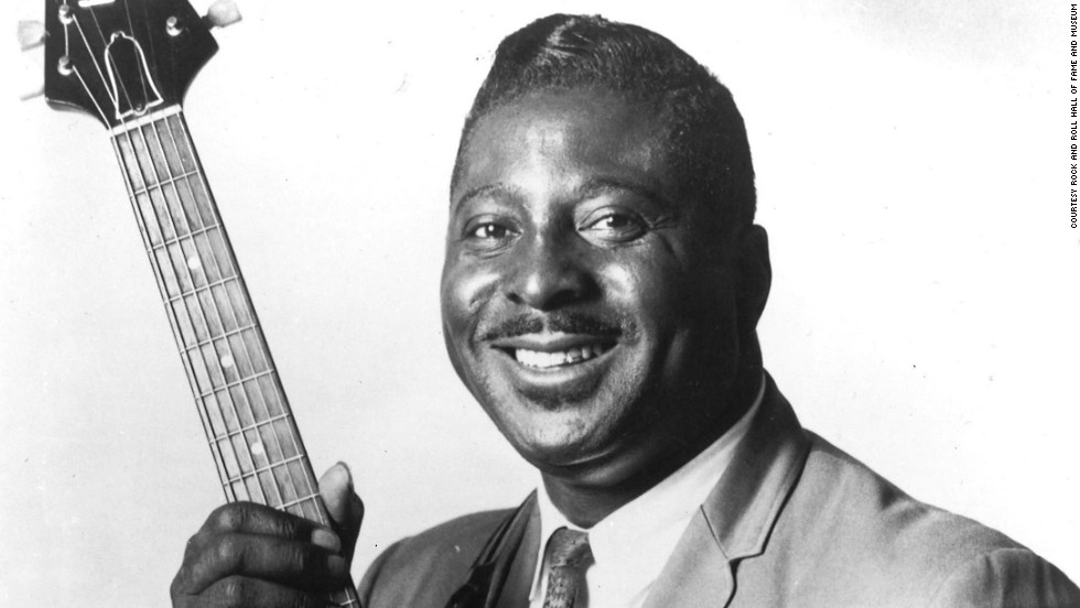 "Albert King's husky vocals and signature Gibson Flying V guitar influenced several artists including Eric Clapton and avid fan Stevie Ray Vaughan. Known for such songs as ""Don't Throw Your Love on Me So Strong"" and ""That's What the Blues Is All About,"" the Mississippi Delta native  was selected for induction after his first nomination. He died in 1992."