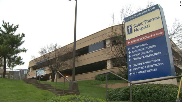 The St. Thomas Outpatient Neurosurgery Center in Nashville, closed due to the outbreak.