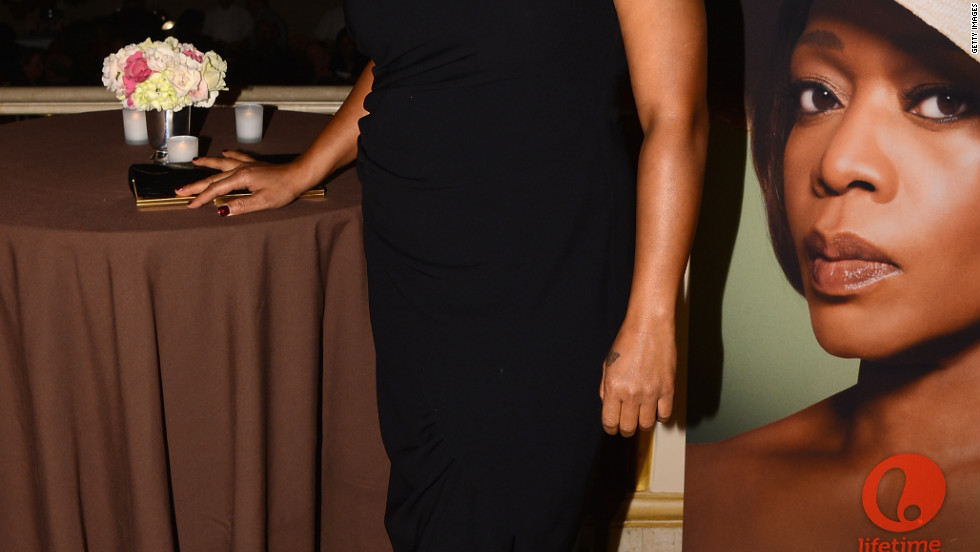 "Queen Latifah celebrates her new project, ""Steel Magnolias,"" in New York City."