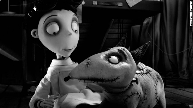 "Victor Frankenstein and Sparky have a special bond in ""Frankenweenie."""