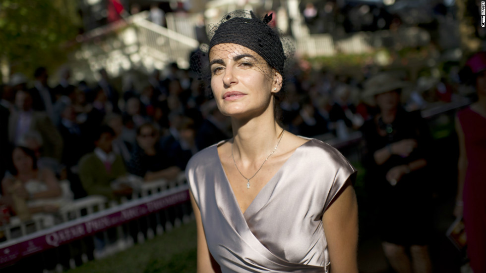 Spanish model Irene Salvador set the tone last year in a 1920s-inspired ensemble. The French race attracts a more demure style than the extroverted costumes seen at Britain's Royal Ascot.