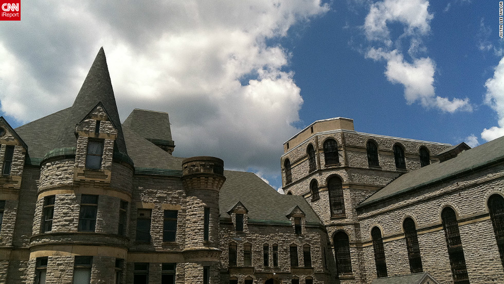 "Famous for playing a starring role in the 1994 film, ""The Shawshank Redemption,"" Ohio State Reformatory in Mansfield, Ohio was built between 1886 and 1910. ""I'm not an architect,"" says iReporter Justin Taylor, ""but I don't believe you need to be in order to appreciate this historic structure."""