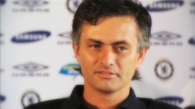 Mourinho's press conference antics
