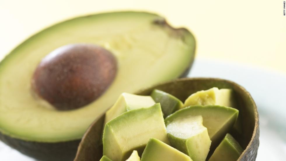 Avocados pack a mixture of fatty acids, monounsaturated fats and antioxidants that help lower inflammation and clear blood vessels.