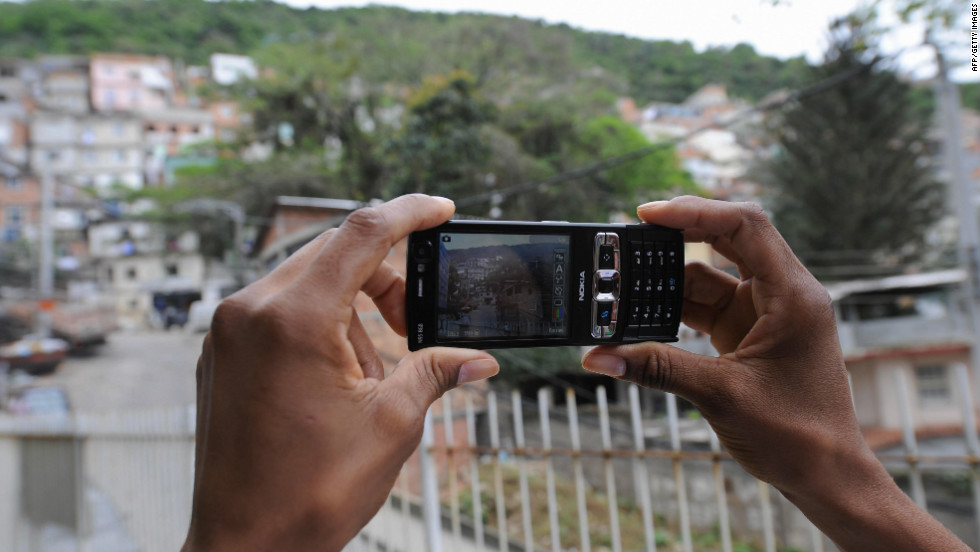 Brazil boasts a rate of more than one mobile subscription per person -- yet many living in the poorest areas, such as the favela (shanty town) complexes of Rio de Janeiro, are without mobile phones.