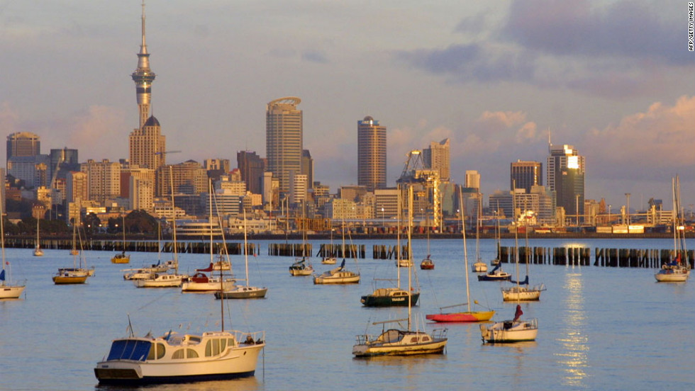 Auckland takes the number five spot largely on its ability to attract human talent -- and its tolerance for diversity. Auckland's maritime tradition still exerts a profound influence on the soul of the city.