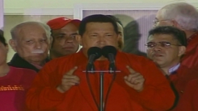 Election Officials:  Chavez re-elected