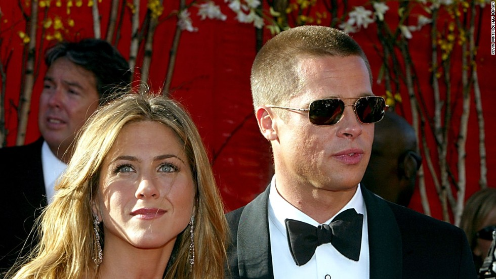 Brad Pitt and Jennifer Aniston's seven-year romance came to an end in 2005. Speculation over whether Angelina Jolie had anything to do with the breakup added a juicy angle to the split.