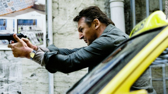 "Liam Neeson stars as operative Bryan Mills in the action film, ""Taken 2."""
