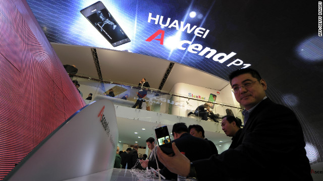 China's Huawei, the world's second largest maker of telecoms gear, says it has ended push to gain access to U.S. market.