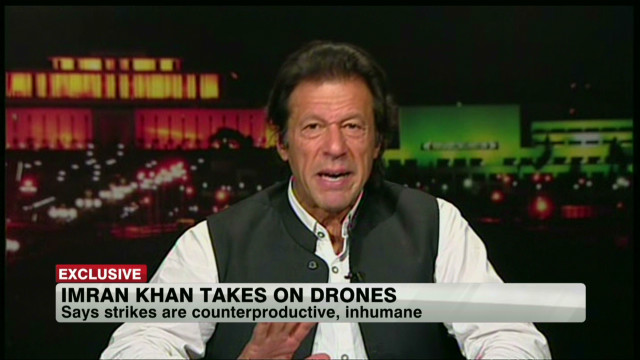 Imran Khan takes on U.S. drones