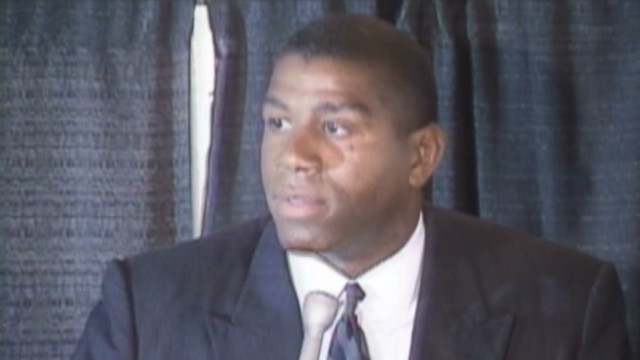 Magic Johnson on his fight with HIV