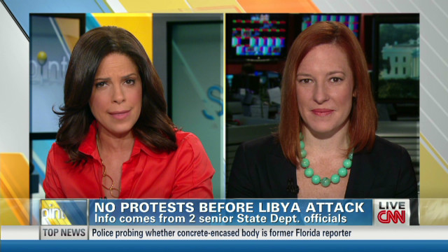 "Psaki: Politicizing Libya ""unfortunate"""