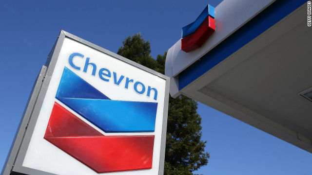A Chevron gas station in San Rafael, California, is pictured on July 27.