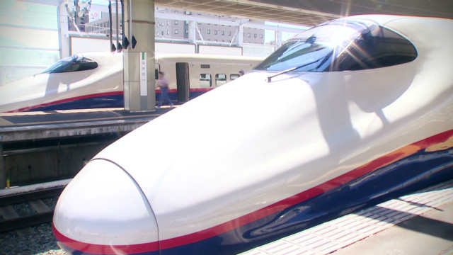 How efficient is Japanese rail?