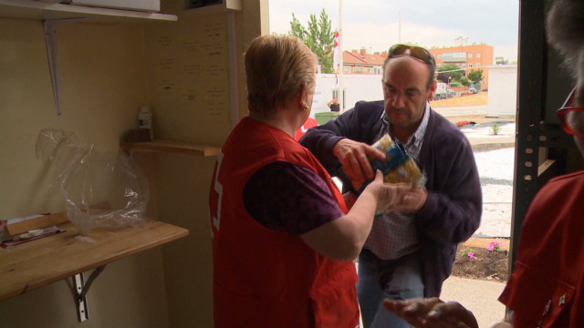 Spain's Red Cross focuses on unemployed