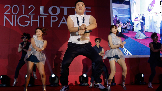 "The video for Psy's ""Gangnam Style"" has racked up over 400 million hits on YouTube."