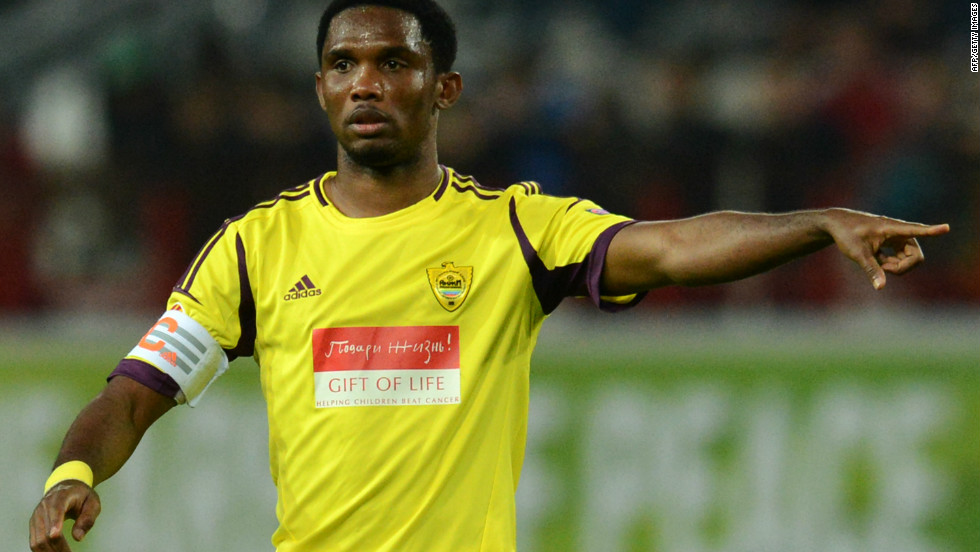 In 2010, Cameroon striker Samuel Eto'o suffered racist abuse from Cagliari fans when playing for Inter Milan in a Serie A game. The Sardinian club was subsequently heavily fined.