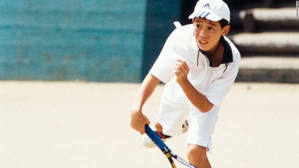 Nishikori prospered in Florida, where he would regularly play from 7am in the morning until 5pm in the afternoon.