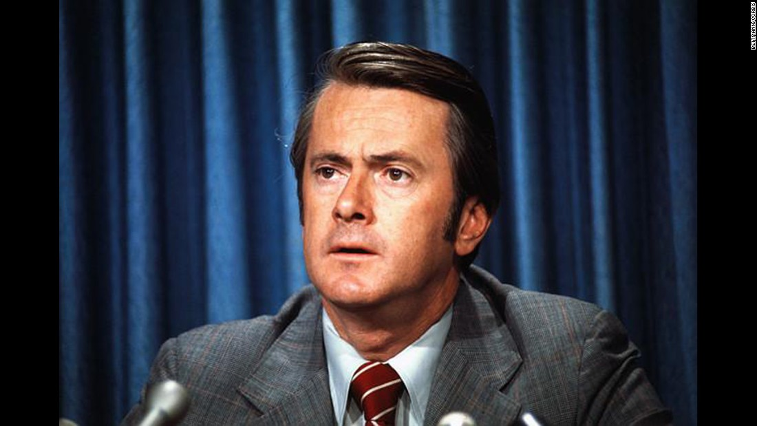 In the closest election in U.S. Senate history, in New Hampshire in 1974, Republican Louis Wyman beat Democrat John Durkin in several recounts. The election was contested for eight months.Ultimately, the Senate called for a revote, and Durkin won by 2 votes. Pictured, Durkin speaks at a Capitol press conference in 1975.
