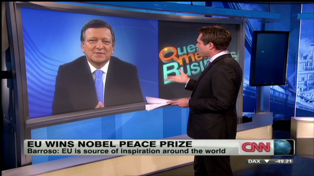 Barroso: EU deserves Nobel Peace Prize