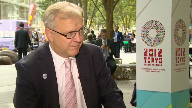 Rehn: 'IMF findings can be disputed'