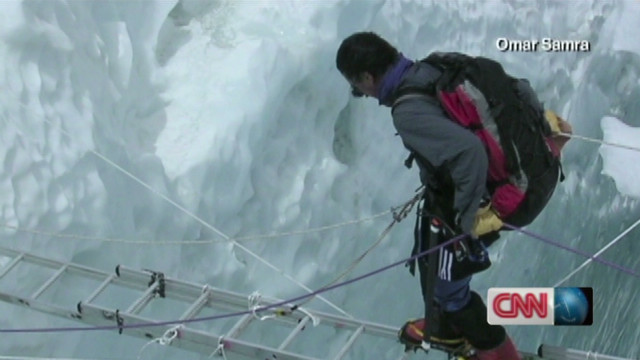 Climber misses revolution at home
